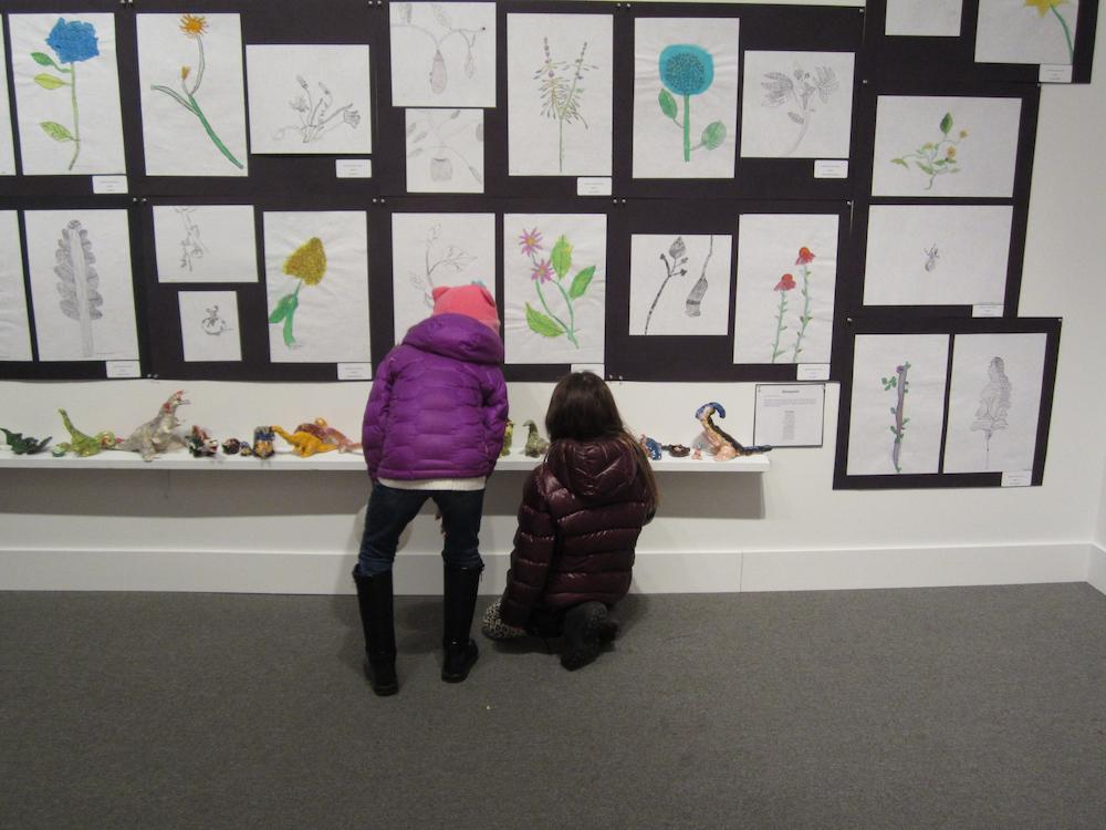 Student Arts Festival Part I exhibition photo by Lauren Baker