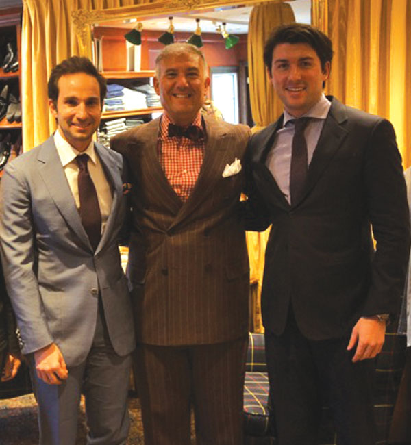 Gerardo Rasetta, Victor Talbot, Max Silverman