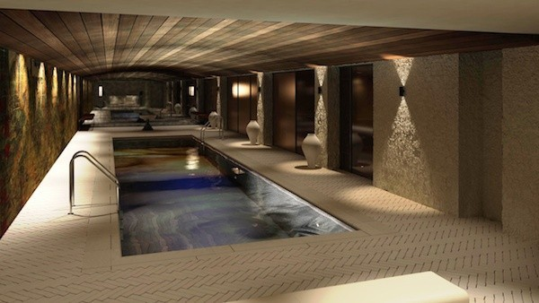 cellar pool area