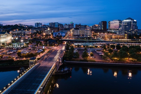 Wilmington, Delaware's skyline