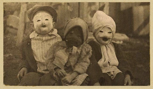 image haunted air by ossian brown traces the history of halloween and showcases early halloween costumes