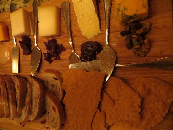 Domaine Hudson's Cheese Board