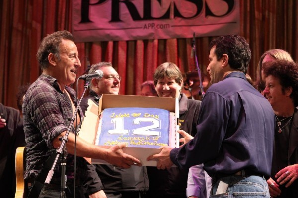 Bob Benjamin & Bruce Springsteen - Light of Day 2012 @ The Paramount Theater