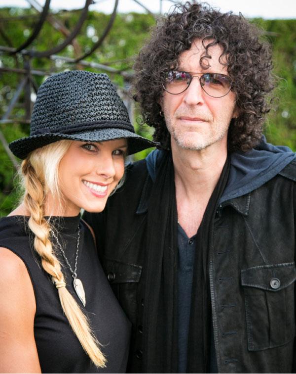 Beth Ostrosky Stern, Howard Stern