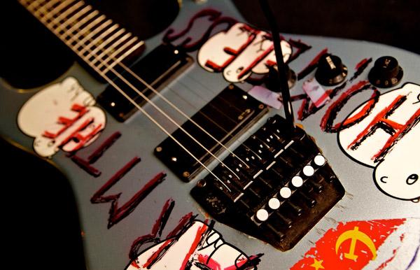 Tom Morello - Custom Performance Signature Guitar-'Arm-The-Homeless'