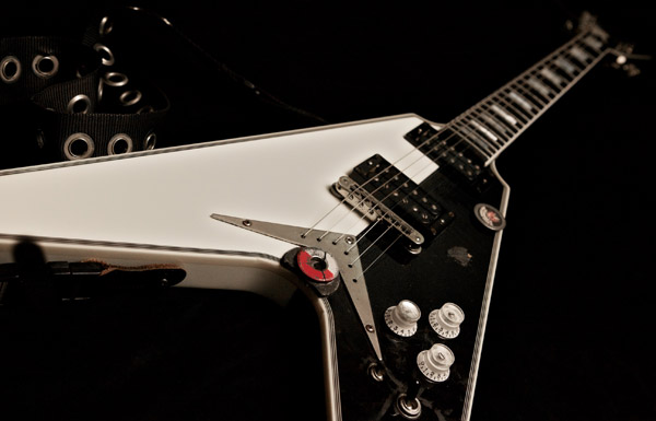 Michael Schenker - 2004 Dean MS Signature Flying V