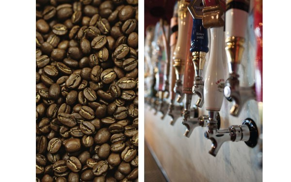 (L) Kookaburra Coffee is in RVC, (R) Croxley's Ales, Image: Stephen Lang