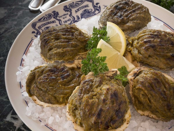 Oysters Rockefeller were created at Antoine's in 1899. Image: Courtesy of Antoine's