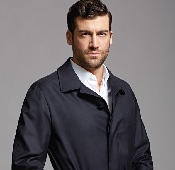 Ermenegildo Zegna lined rain coat and basic woven button down  Both at Marshs