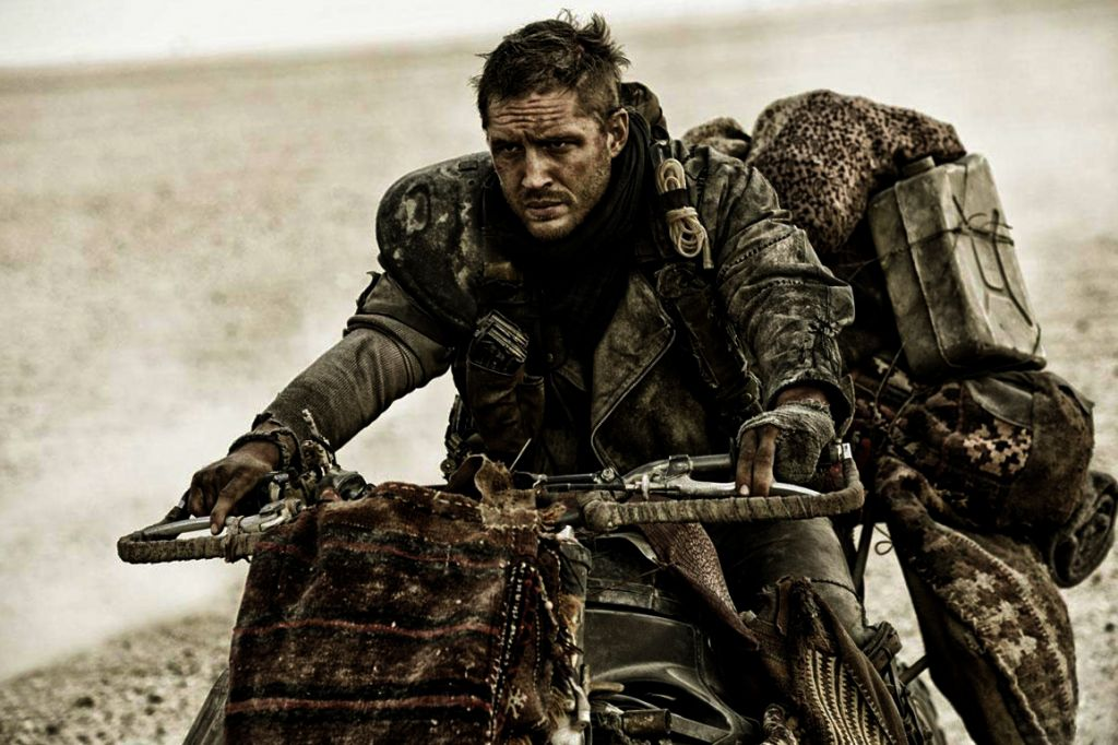 Tom Hardy as Max in Mad Max: Fury Road