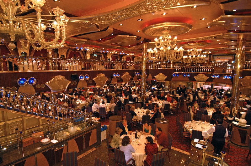 One of Carnival Liberty's dining options. image: andy newman/carnival cruise lines)