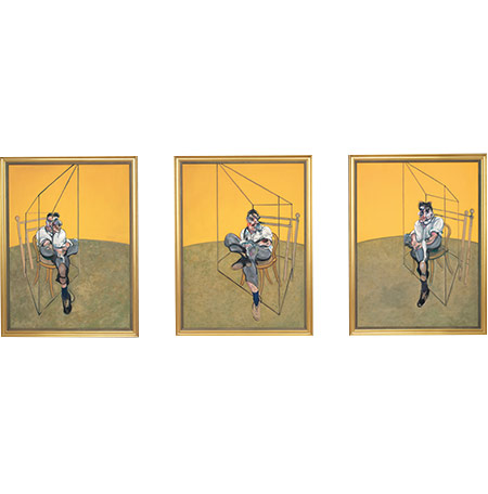 """Three Studies of Lucian Freud"""