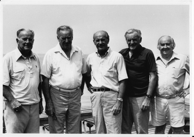 image: the five original flynns (image courtesy of the flynn family)