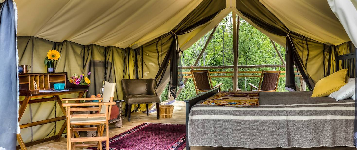 glamping in new york