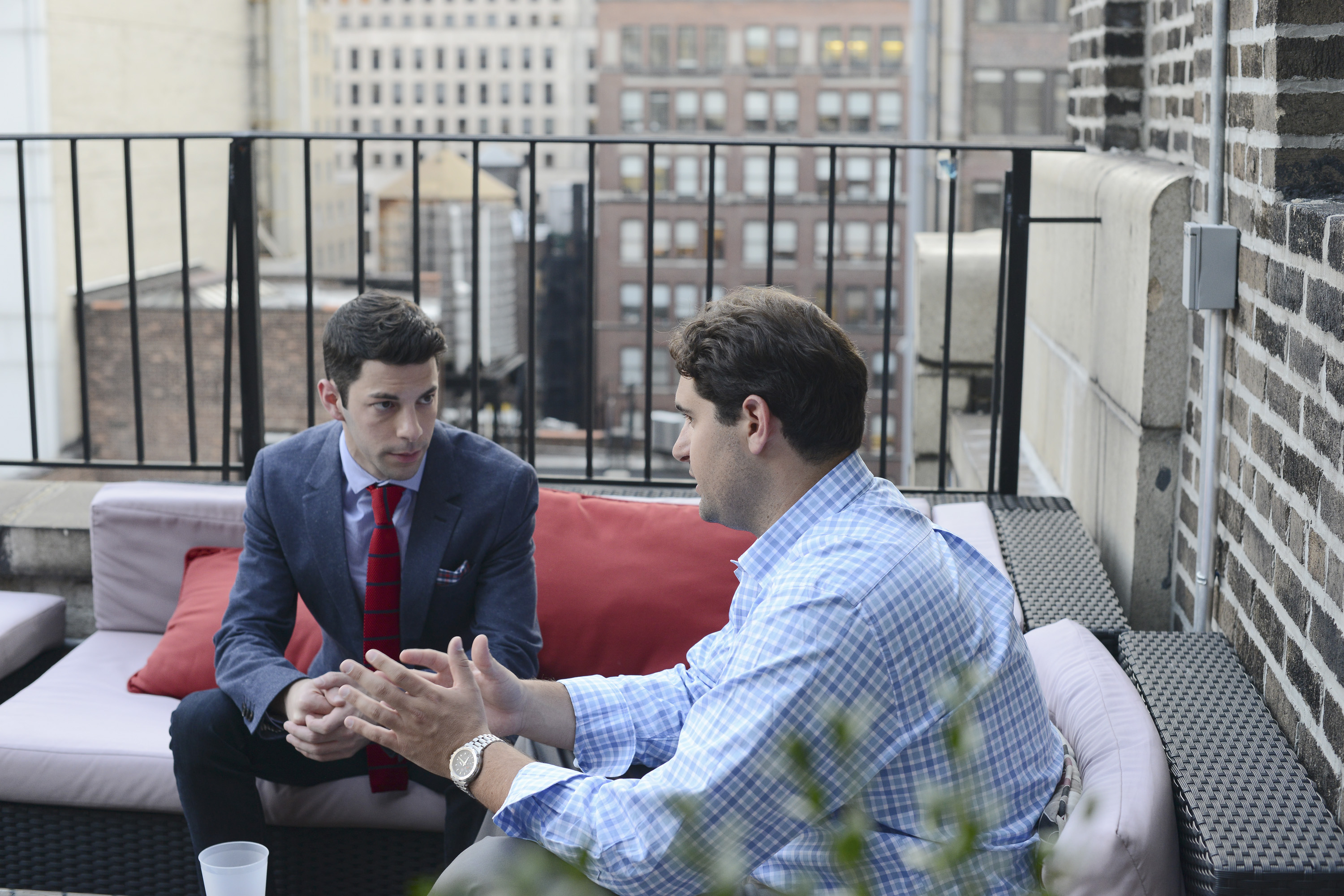"ABC Family's ""Nest Step Realty: NYC"" stars Matt Bauman and Blair Brandt. image: abc family/nicole rivelli)"