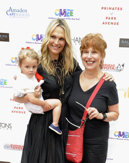 Model Molly Sims, her daughter Scarlett May Stuber and comedian, writer, actress Joy Behar attend the Children's Museum of the East End's (CMEE) 7th Annual Family Fair at Children's Museum of the East End (credit: matthew eisman/getty images for CMEE)