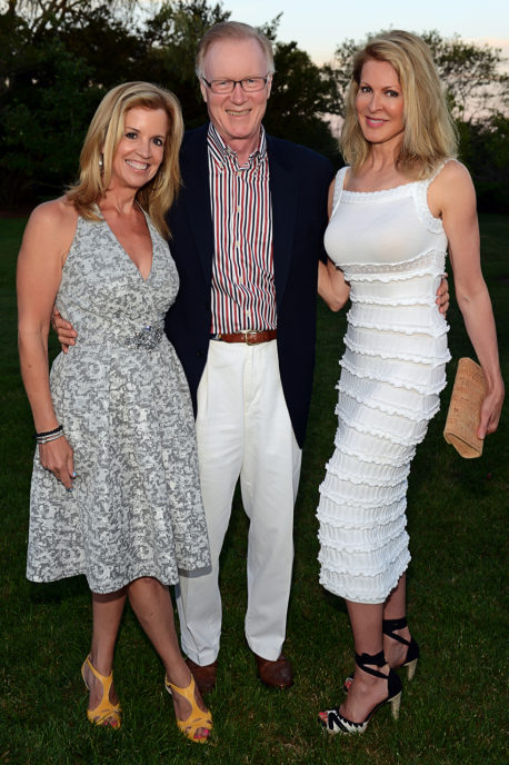 jane Hansen and chuck & ellen Scarborough. chuck scarborough will emcee this year's event (credit: couri haye)