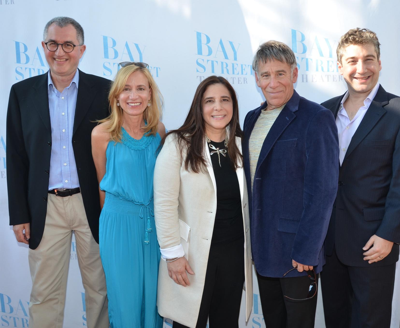 Philip LaZebnik. Tracy Mitchell, Dori Berinstein, Stephen Schwartz and Scott Schwartz (image: barry gordin)
