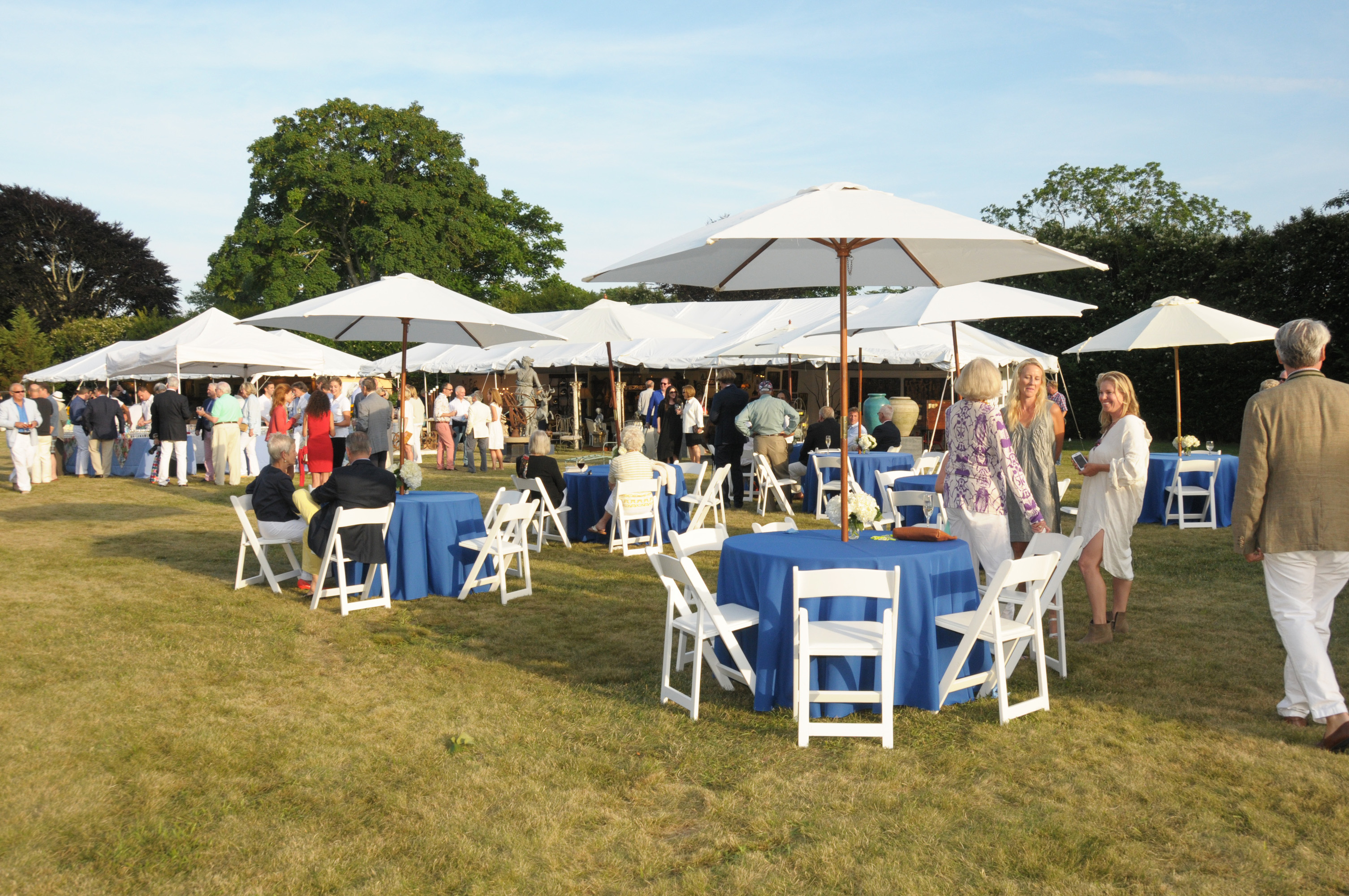 image: The East Hampton Historical Society Antiques Show (credit: Richard Lewin)