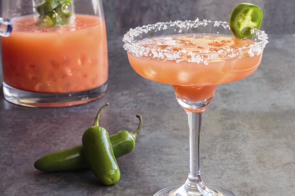 Spicy Hawaiian margarita