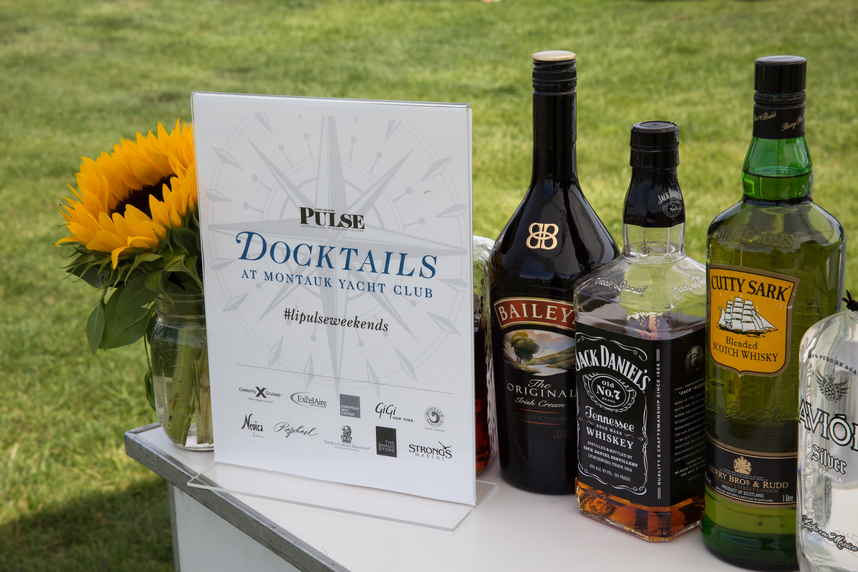 Guests were treated to good food, drink and goodies at Docktails (credit: Jenny Gorman)
