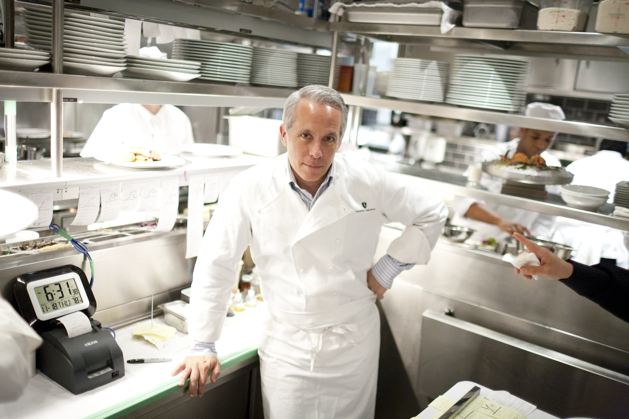 Celebrity chef Geoffrey Zakarian has the honor of being the first-ever host of Dan's Harvest East End (image: geoffrey zakarian)