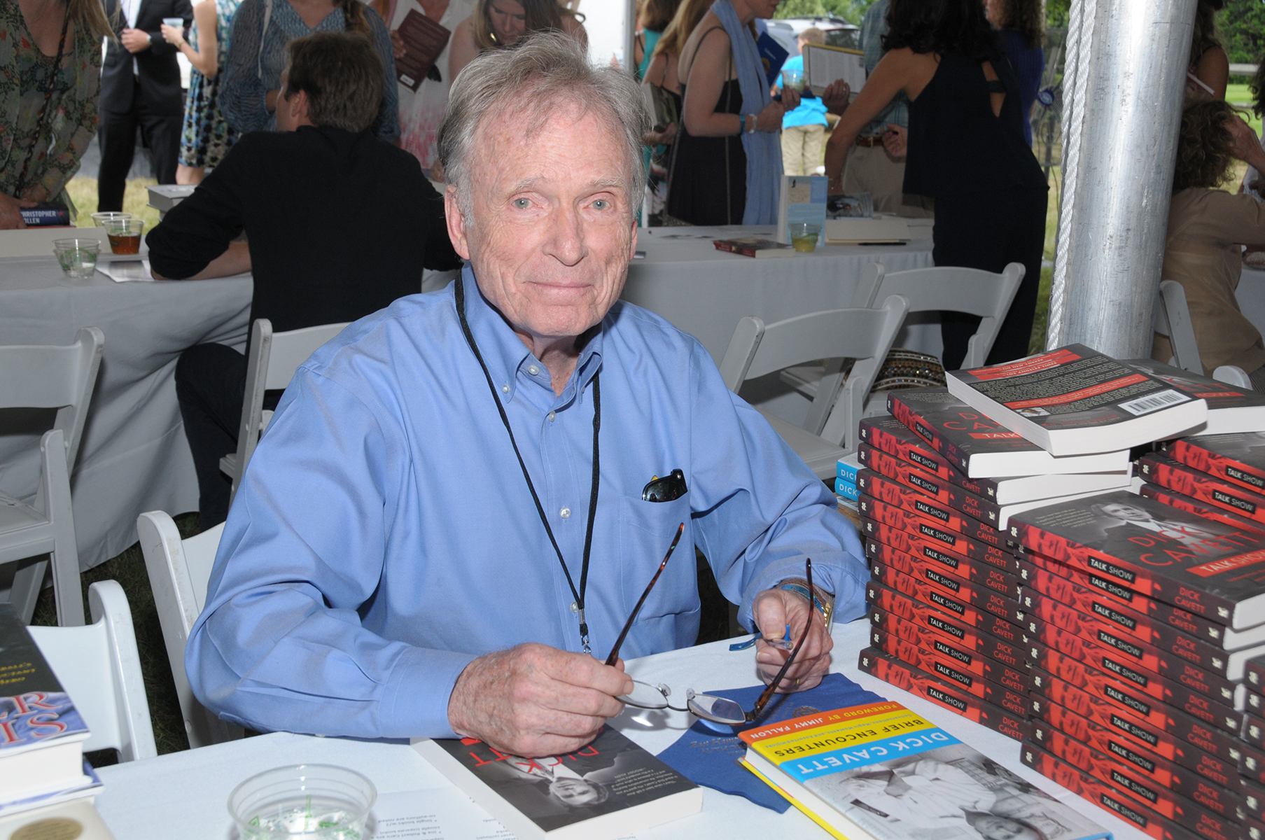 Dick Cavett, an Honorary Co-Chair of Authors Night (credit: richard lewin photography)