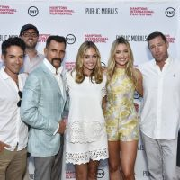 Stuart Match Suna, Aaron Lubin, David Nugent, Aaron Lubin  Wass Stevens, Elizabeth Masucci, Katrina Bowden, Edward Burns  and Anne Chaisson attend Public Morals at the Maidstone. image: eugene gologursky/getty images for hamptons international film festival.