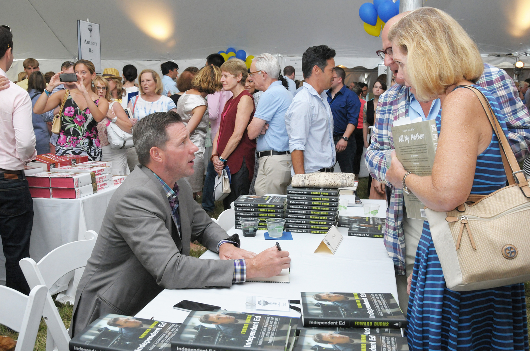 Ed Burns, Honorary Co-Chair of Authors Night