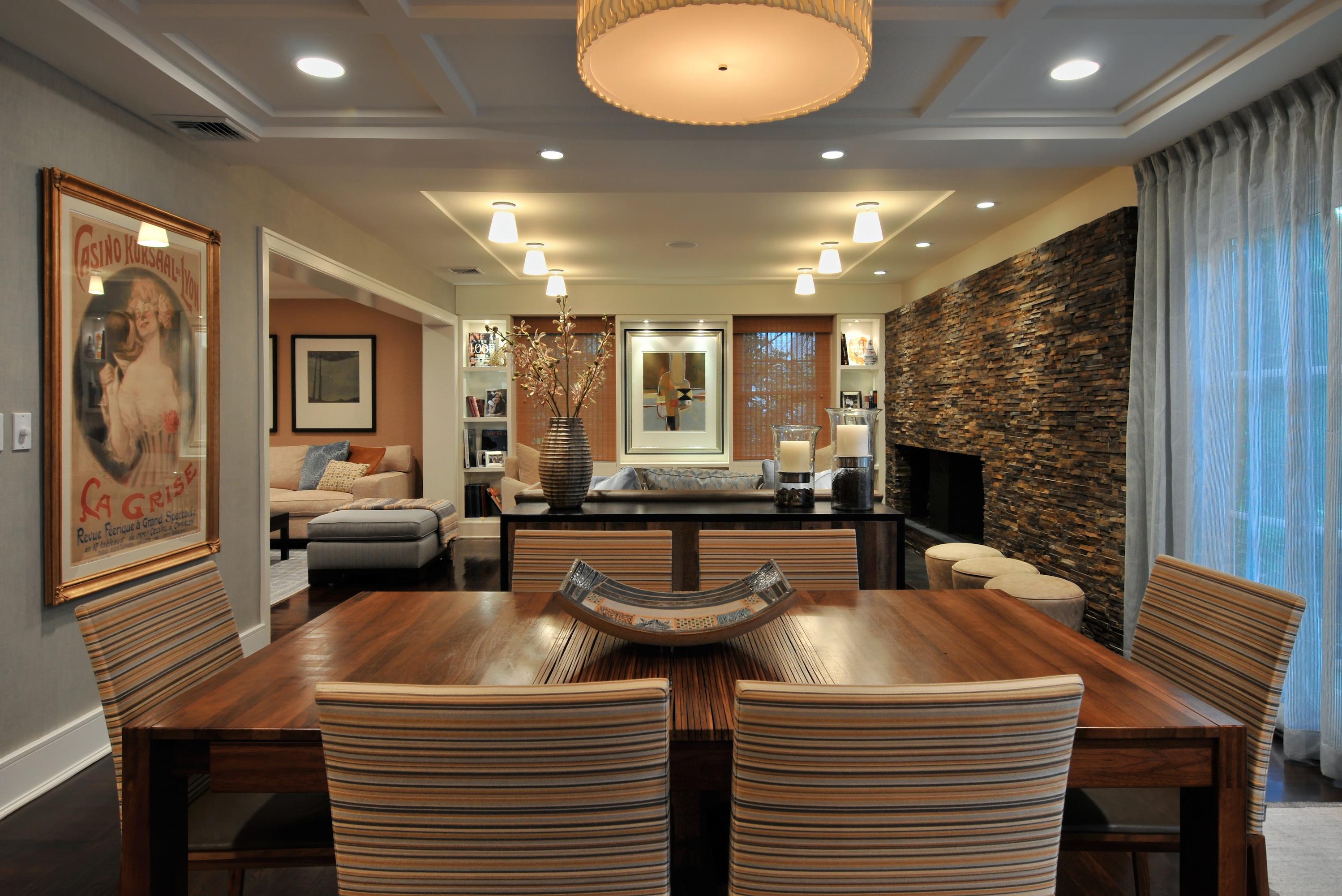 A Roslyn home (credit:  margreet cevasco design)