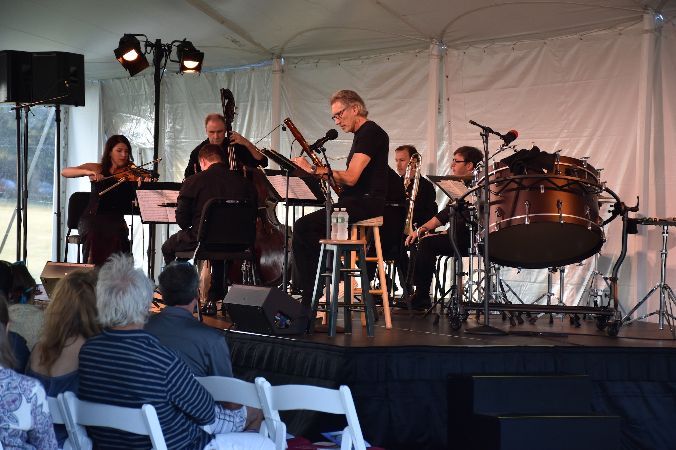 "Bridgehampton Chamber Music Festival WM. Brian Little Concert – Roger Waters in ""A Soldier's Tale."""