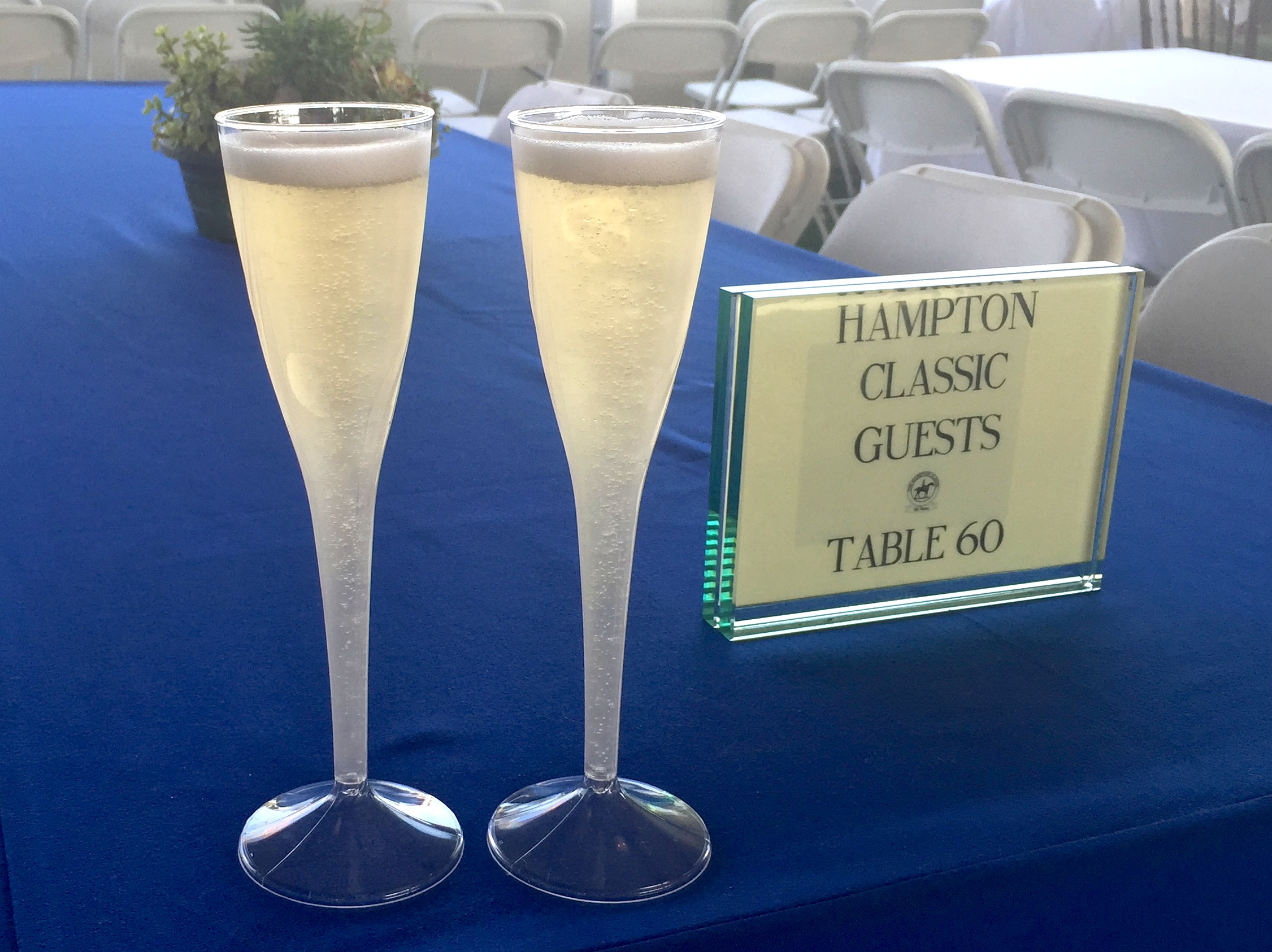 Toasting to the end of summer in the Hamptons.