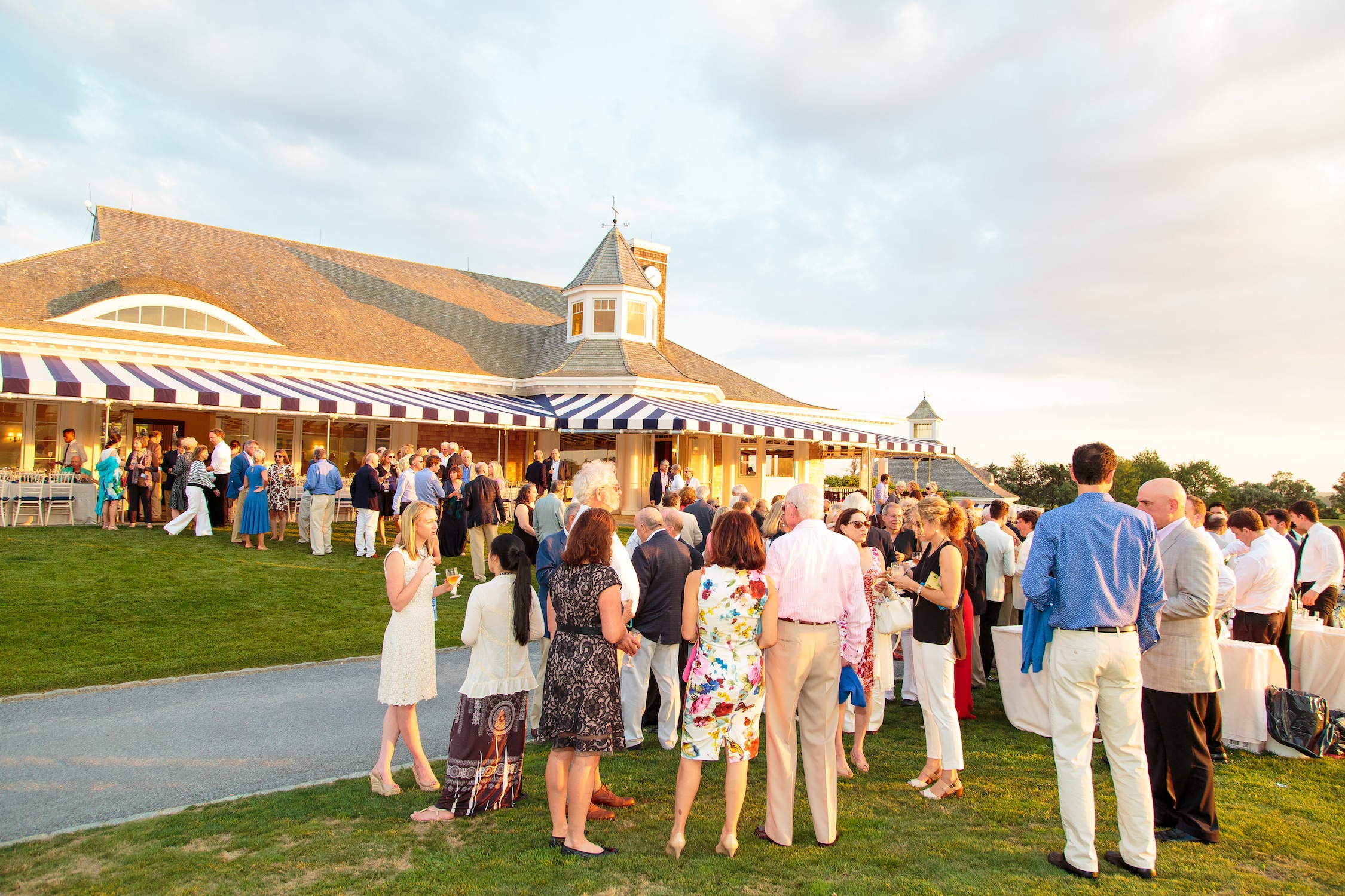 Guests enjoying Bridgehampton Chamber Music Festival - A Night That Will Move You