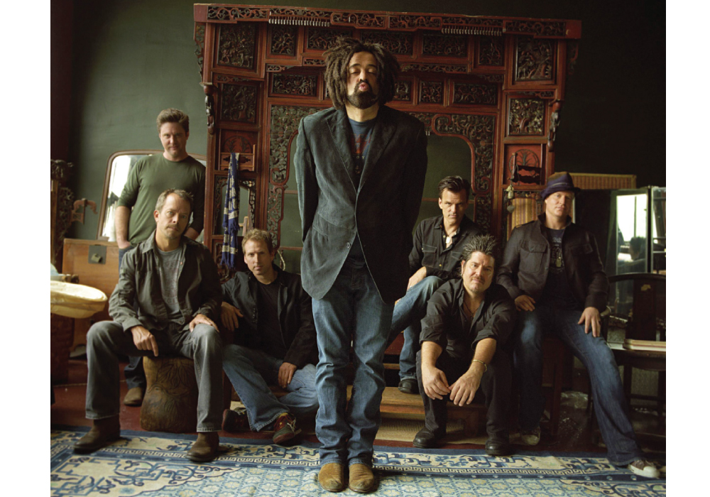 The Counting Crows will be playing the Paramount in Huntington on Sept 4