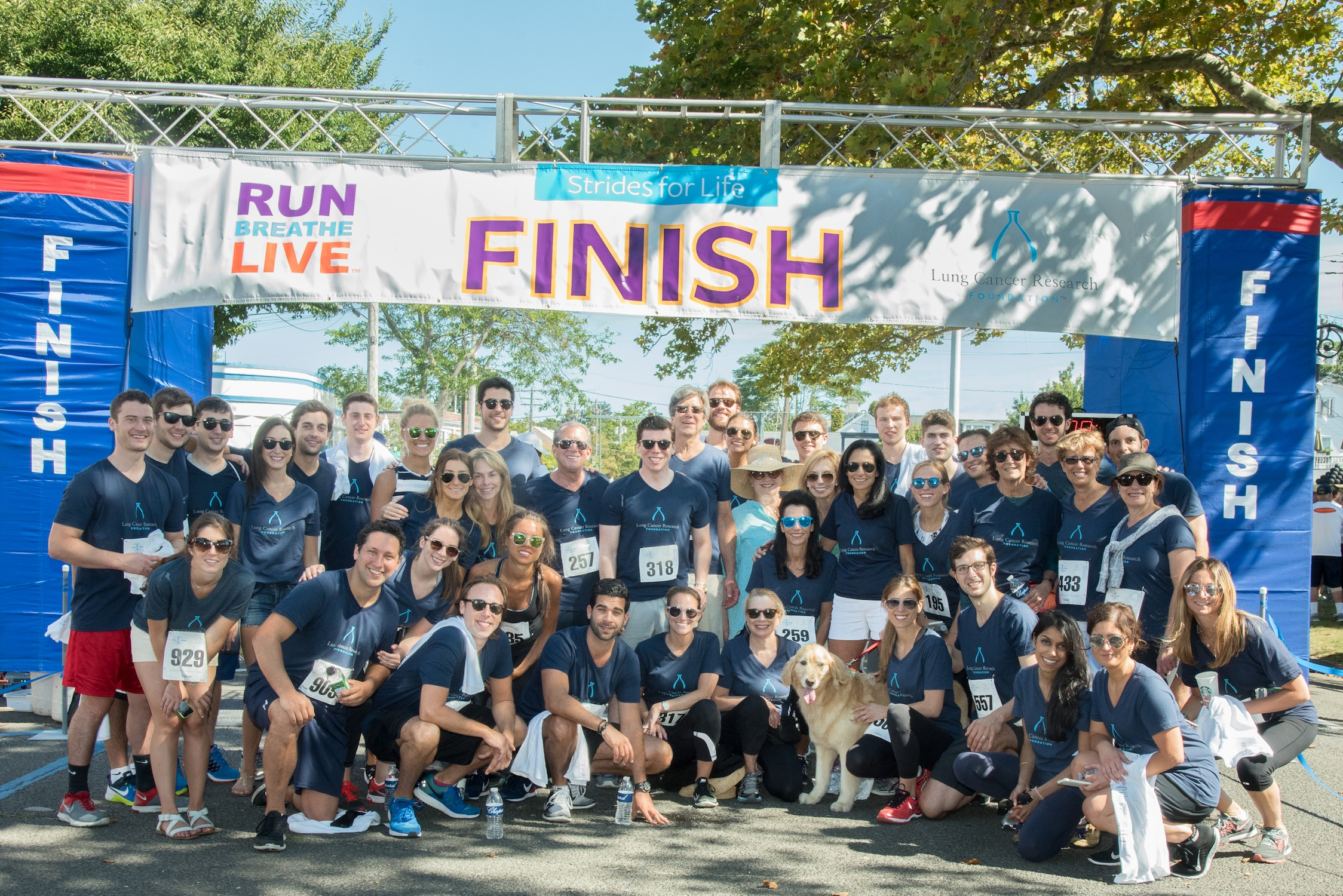 Strides for Life raised more than $400,000 for the Lung Cancer Research Foundation (credit: ben asen photography)