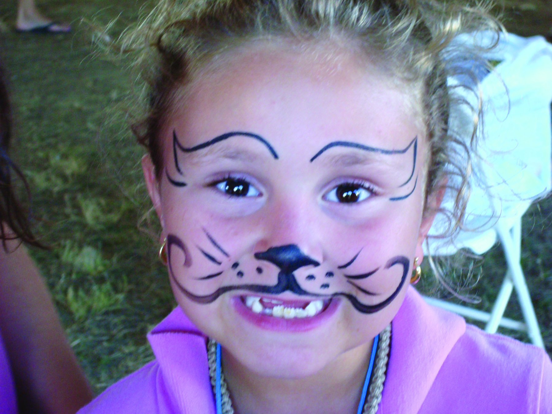 Kids will love the face painting and pony rides (credit: r. braccini)