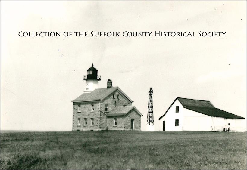 Old Field Lighthouse, 1933. image: brookhaven pictorial collection of the suffolk county historical society library archives [182.117.11]. copyright © suffolk county historical society. all rights reserved.