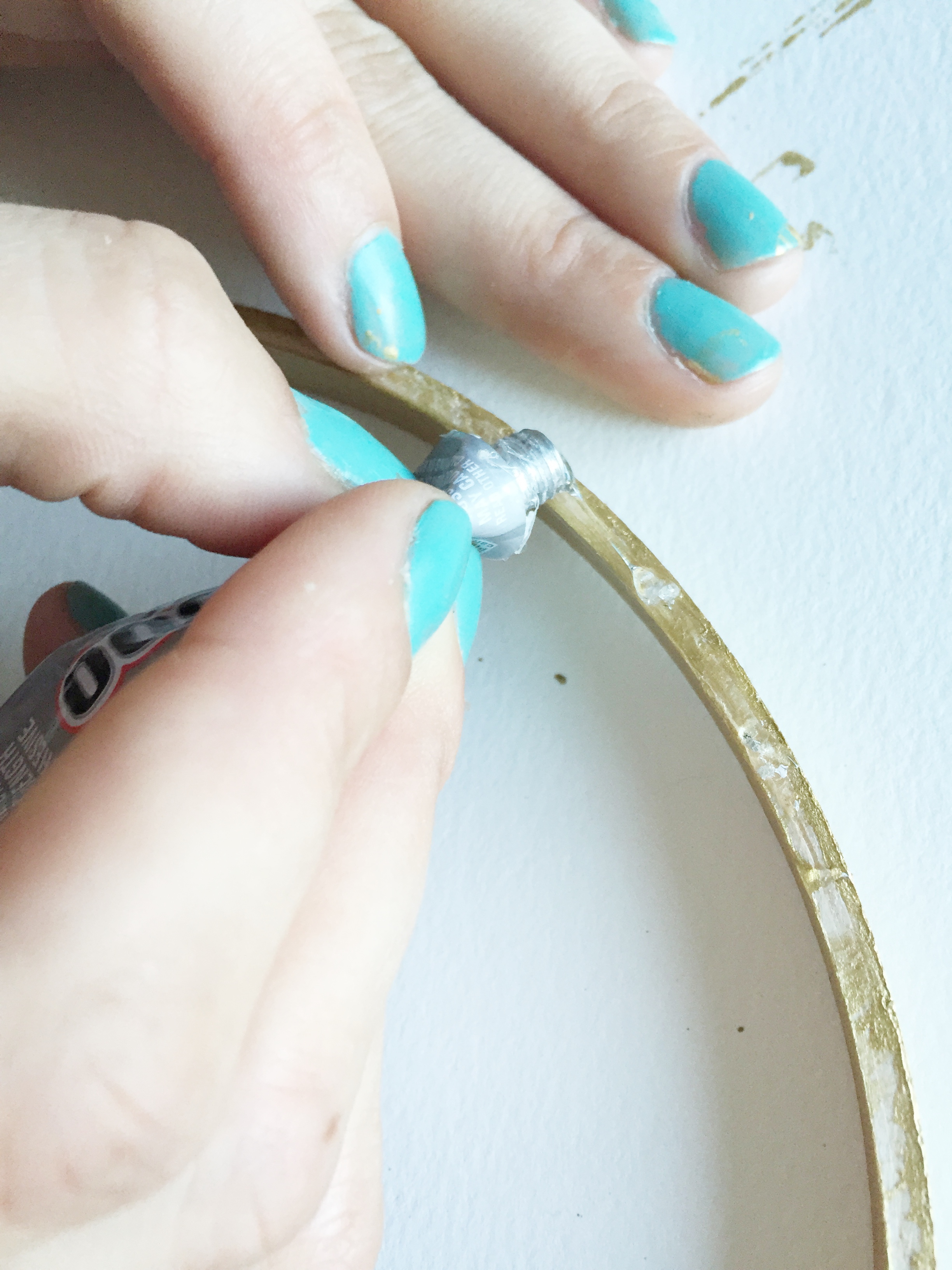 image: it wouldn't be a DIY project if your hands didn't get a little dirty credit: gild collective