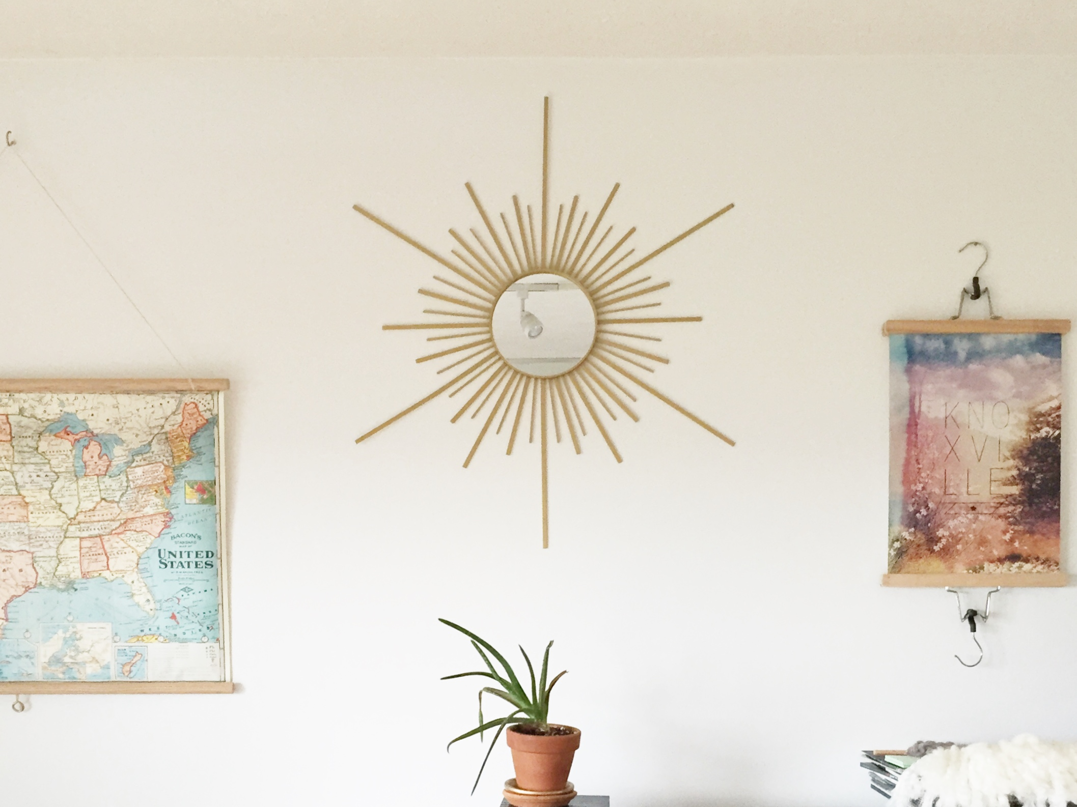 image: sunburst mirror credit: gild collective