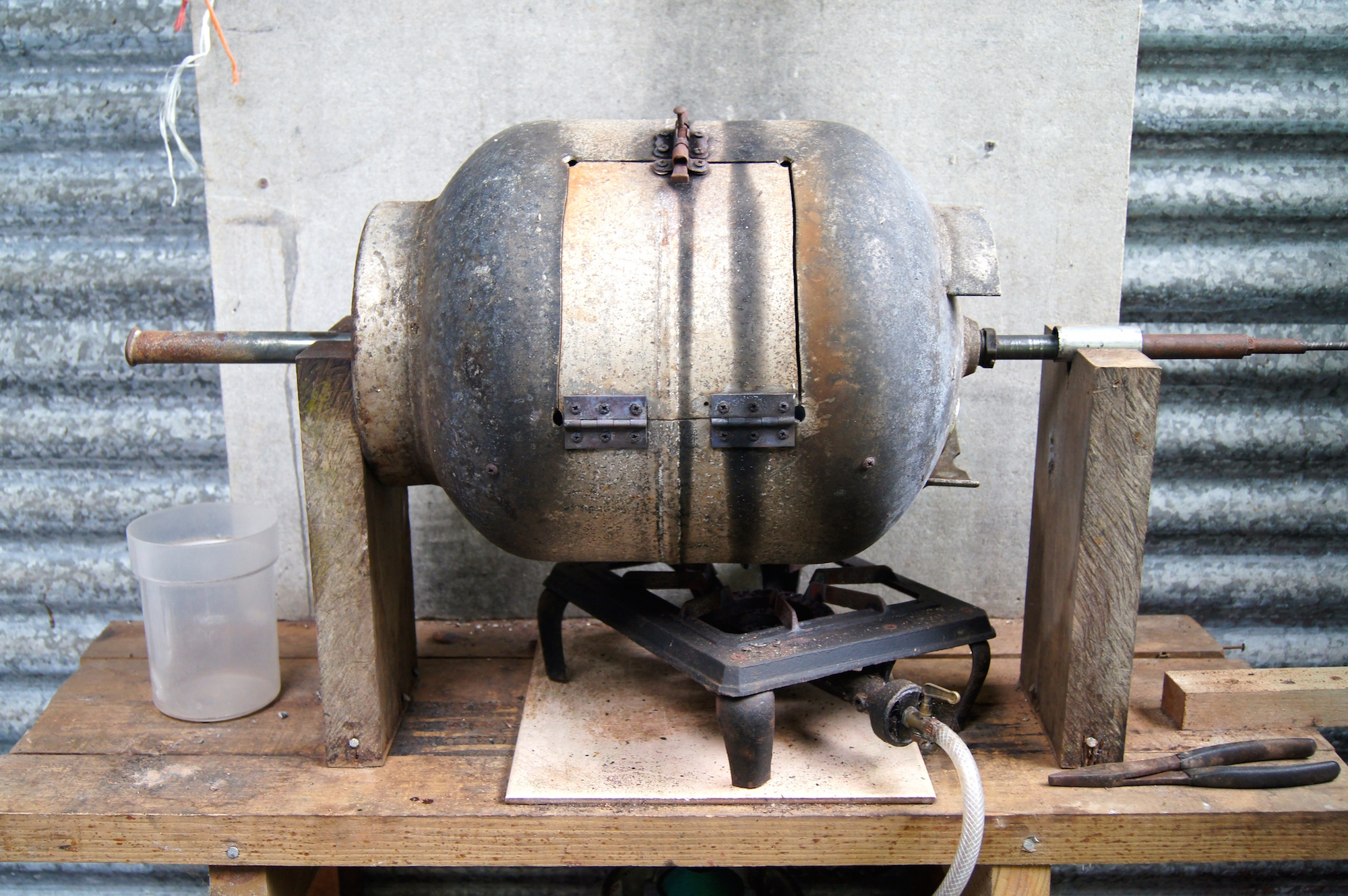 Yes, the beans get roasted in that. Yes, it's worth it. image: bridget shirvell