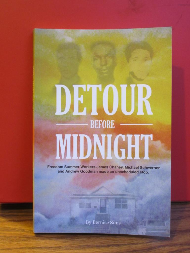 Sims will discuss her book, Detour Before Midnight, and current events in Garden City Sunday, Sept. 27