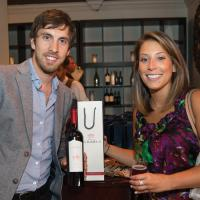 Nicolas Goldberg of Finca La Igriega Winery and Emily Vergara