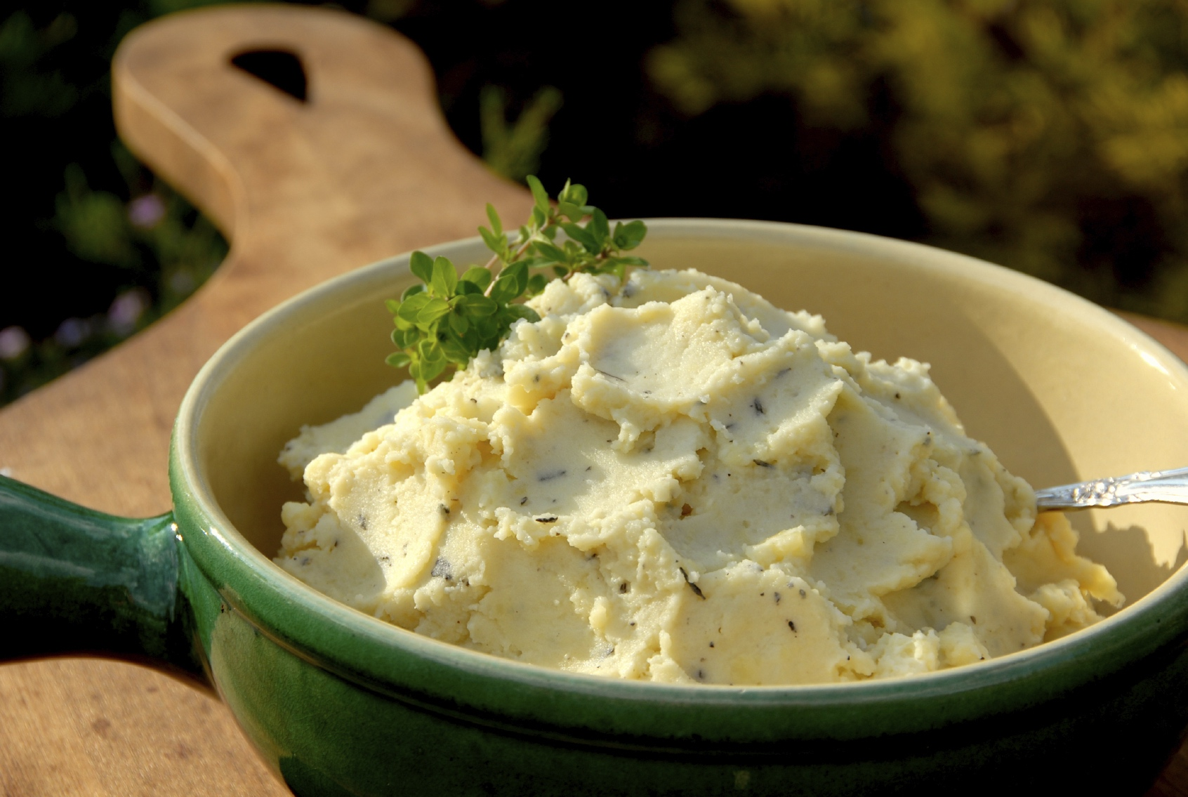 Herb Mashed Potatoes. image: funwithfood