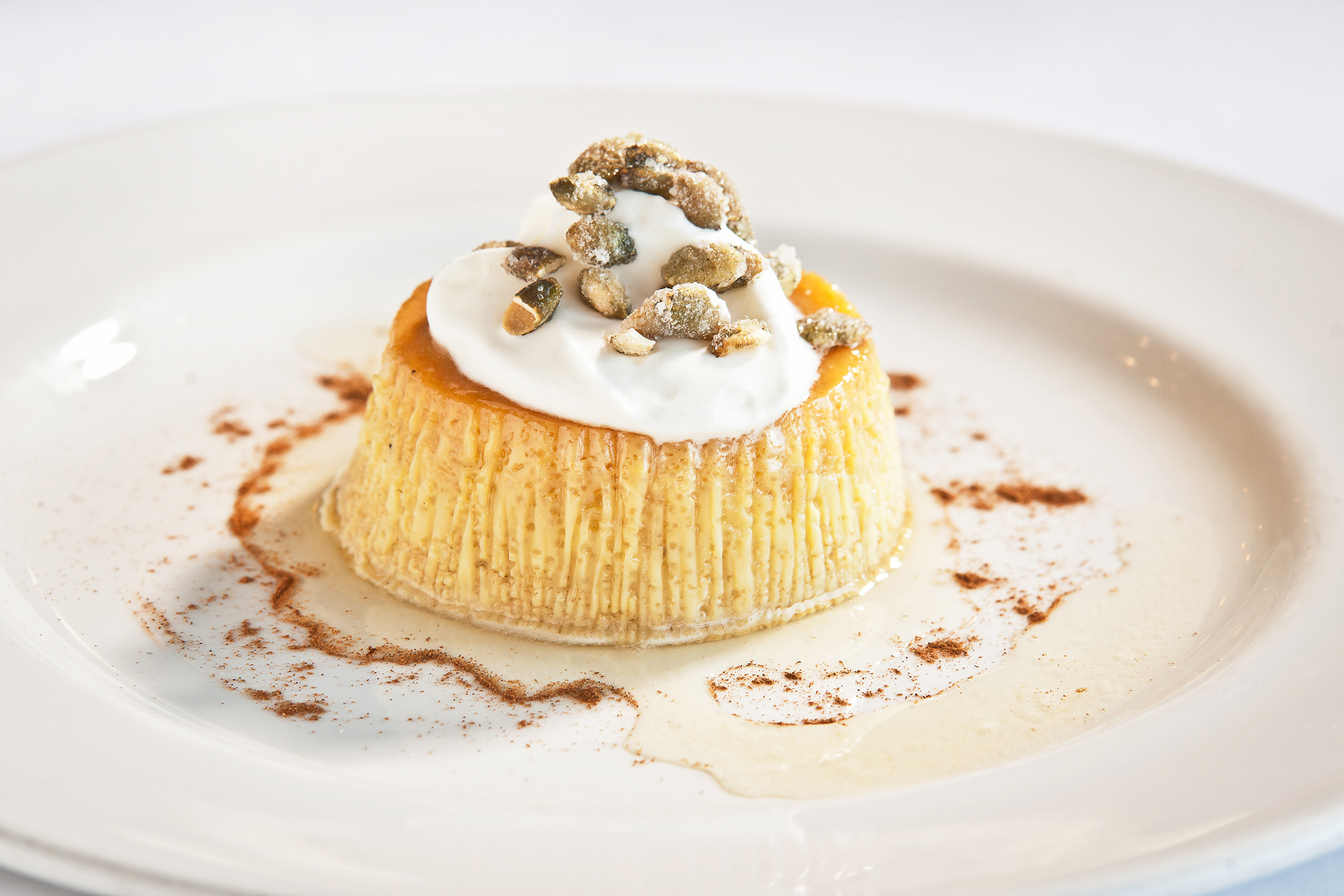 This recipe from Besito is pumpkin-carmel goodness credit: besito, roslyn, ny