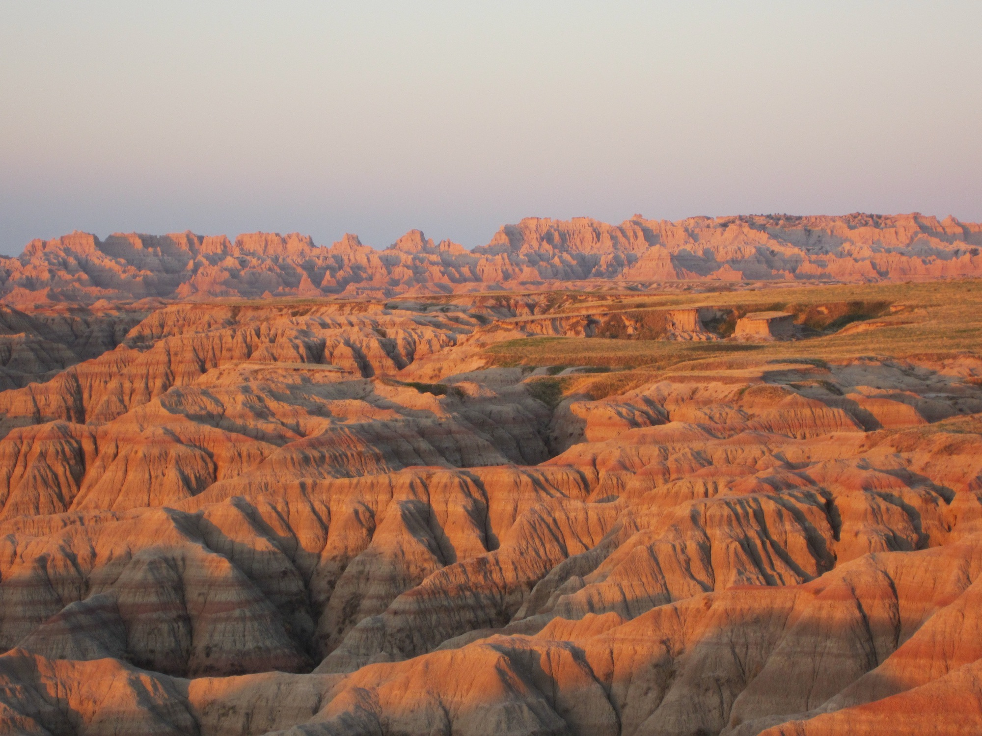 Badlands National Park credit: sophia dembling