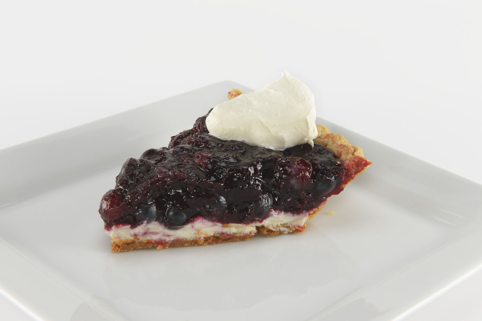 Bourbon Blueberry Cream Cheese Pie Recipe