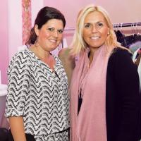 Kyra Grill and Dana Amoroso of Lord & Taylor Garden City . image: jenny gorman