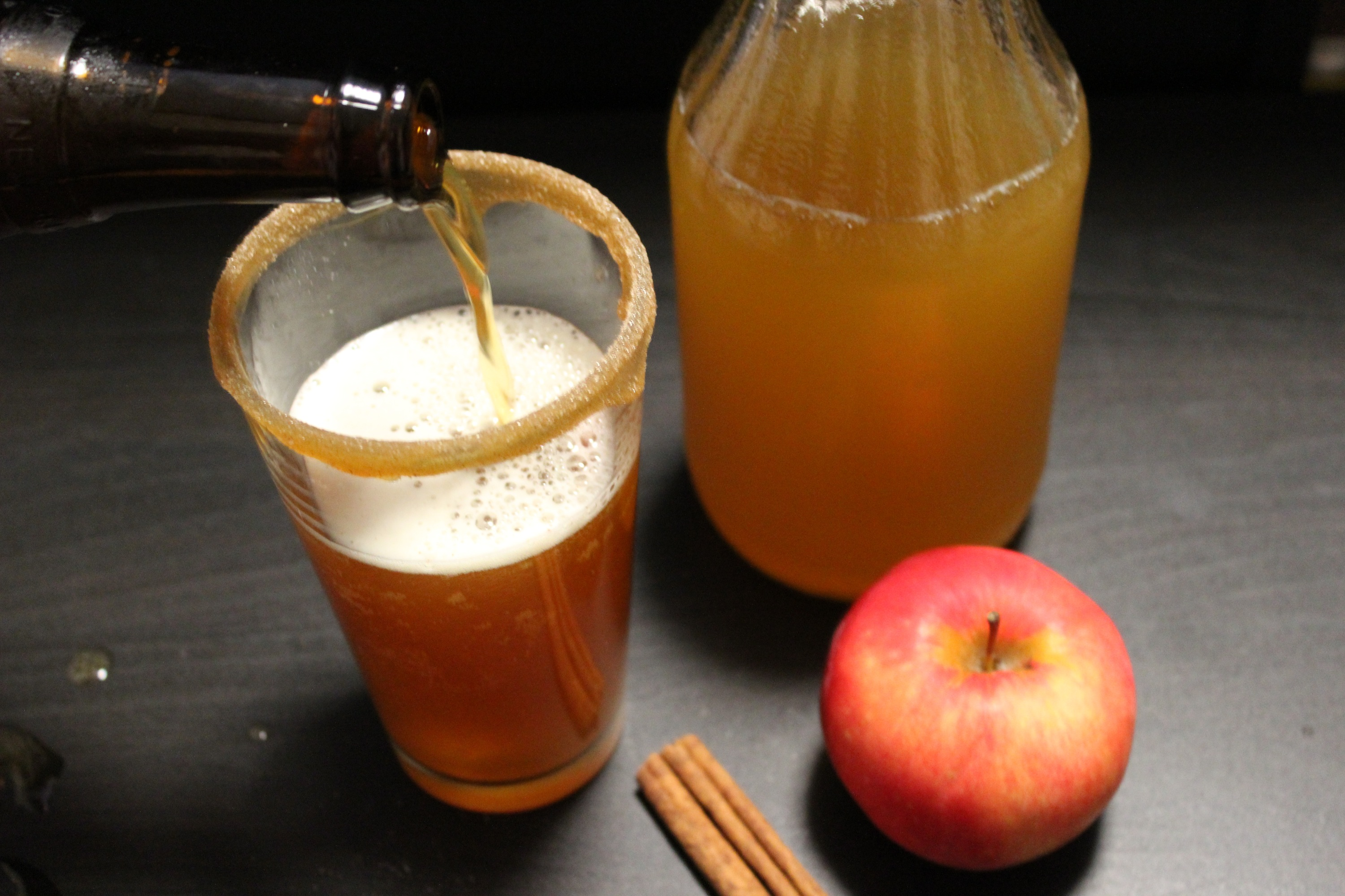 Pumpkin Spice Apple Beer