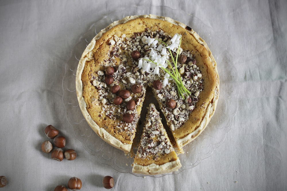 hazelnut pie recipe