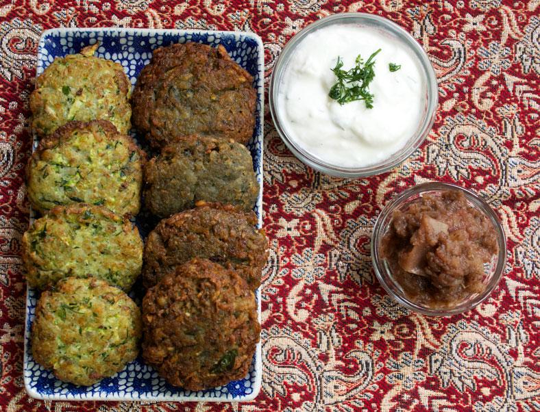 Latkes: Jewish Potato & Zucchini Fritters